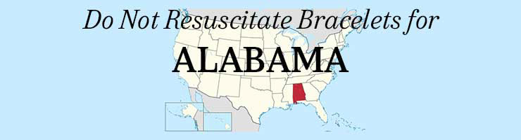 Alabama DNR Do Not Resuscitate Bracelets