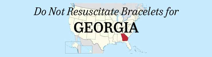 Georgia Do Not Resuscitate Bracelets