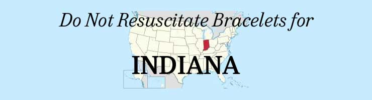 Indiana DNR Do Not Resuscitate Bracelets
