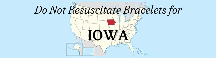 Iowa DNR Do Not Resuscitate Bracelets