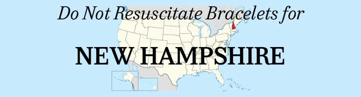 New Hampshire Do Not Resuscitate ID Bracelets