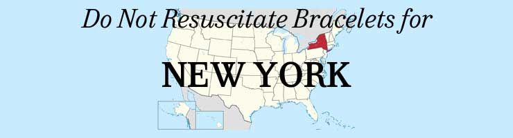 New York DNR Do Not Resuscitate Bracelets