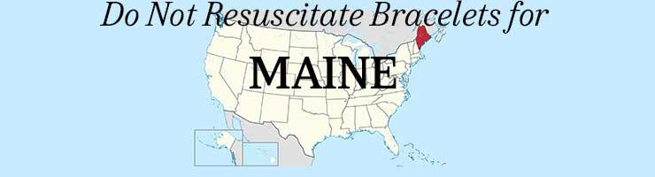 Maine Do Not Resuscitate Bracelets